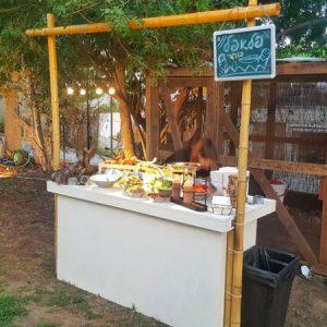 דוכני אוכל טבעוני